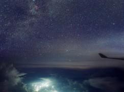 【Starspotting】飛機上攝星