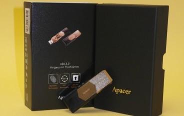 指紋辨識感測 Apacer AH650 USB 隨身碟