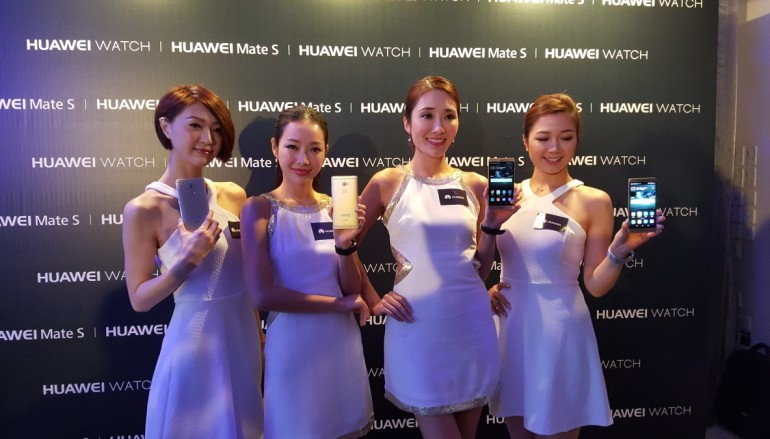 有 Force Touch?HUAWEI Mate S 上場即賣