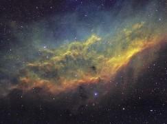 【Starspotting】加州星雲 SHO palette