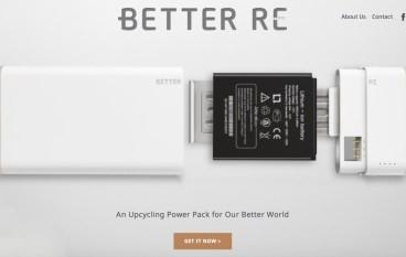 【舊電池重生】Better Re 環保外置電將舊電再用