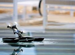 無人機玩轉海、陸、空