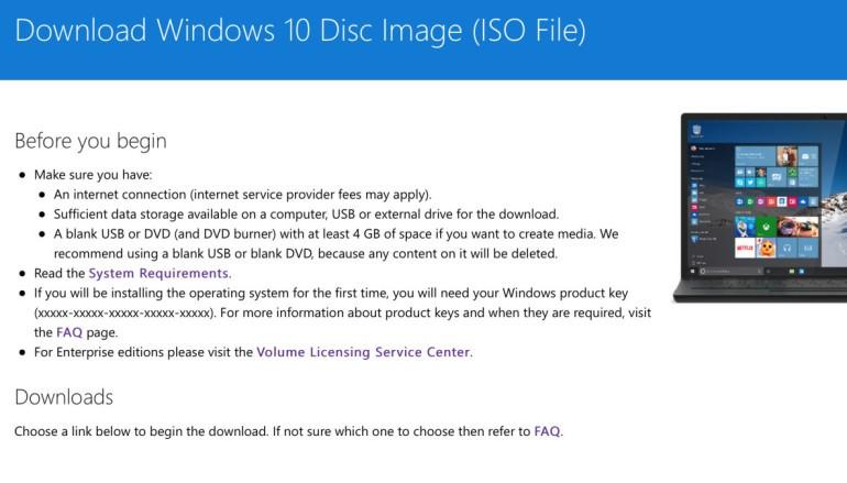 【等唔切】Windows 10 ISO 下載咗先講