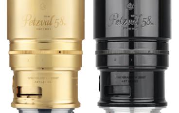 網上限量預購 New Petzval 58 鏡頭