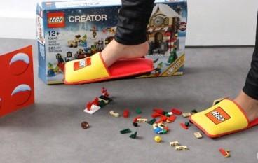 踩 LEGO 無咁傷!防 LEGO 拖鞋限量面世