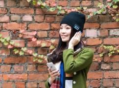 戴住冷帽就可以免提通話、聽歌兼保暖?!