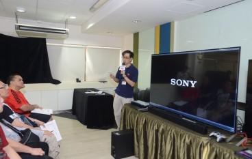 PCM × Sony@ 4.9mm 超薄 4K X9000C Android 電視教學工作坊