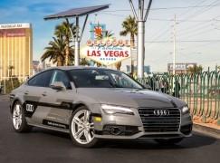 【CES 2015】Audi A7自動駕駛車 矽谷直闖入會場