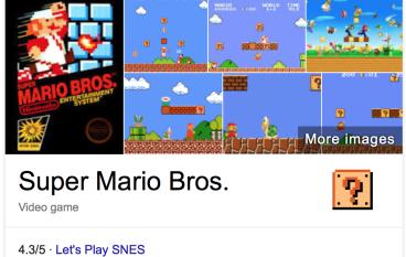 【生日快樂!】Mario 30周歲 Google 派彩疍