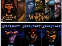 《StarCraft》、《Warcraft III》、《Diablo II》復刻在望