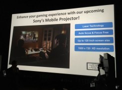 【突發】Sony Mobile Projector 今年十月推出!