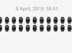 【植入式廣告!?】iOS 8.3 Emoji 驚現疑似 Apple Watch