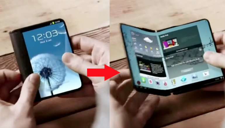 【It's Amazing】傳 Samsung 明年初推摺疊手機