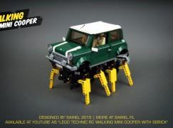 LEGO神人Mini Cooper大搞鬼
