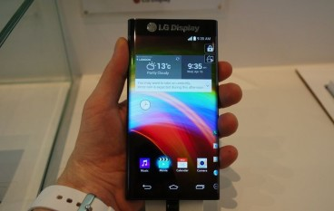【CES 2015】LG 靜雞雞展出雙側屏幕原型手機