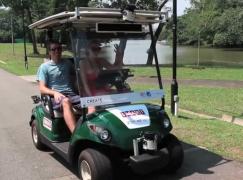 新加坡試行無人駕駛 golf 車