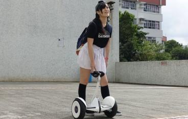 【有片】小米九號平衡車 女版主玩後報告!