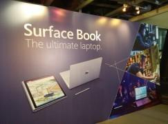 有獨顯最平$14,688 Surface Book登陸本港