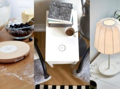 家中隨處充電!IKEA 下月推 Qi 無線充電傢俱系列