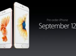 【Apple發布會】 iPhone 6s 星期六開始預訂