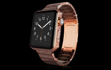 極致奢華鑽石版 Apple Watch 天價現身