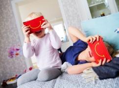 瑞典麥當奴開心樂園餐送 VR Cardboard