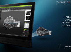 3D掃描、投影機任加 ThinkPad X1 Tablet大玩模組化擴充