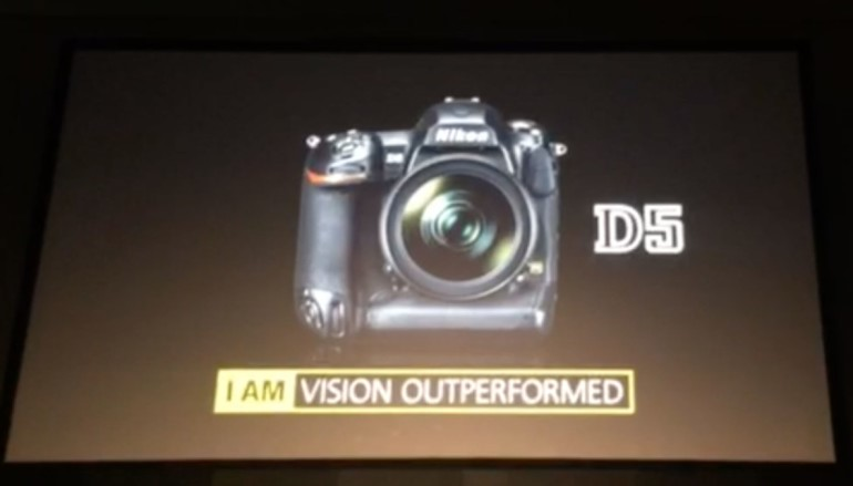 【CES 2016】神級 300萬 ISO、4K 拍片,Nikon D5 終於現身
