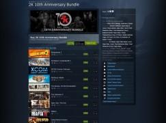 Steam限時特賣2K遊戲低至2折