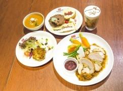 Moomin Café聖誕大餐送瓷碟