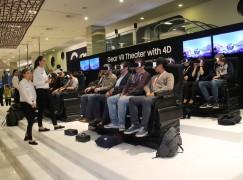 3 月 11 銅鑼灣世貿感受 Gear VR 4D