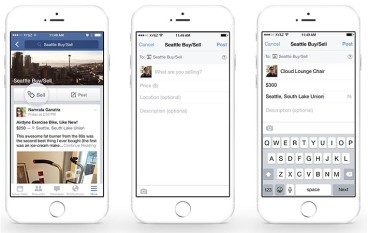 Facebook 新加入群組買賣服務功能