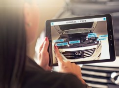 Hyundai 用 AR App 代替互動車主手冊