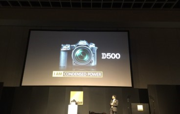 【CES 2016】Nikon D500 玩全無線連接