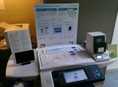 富士施樂地圖打印方案 按需要印製夠環保
