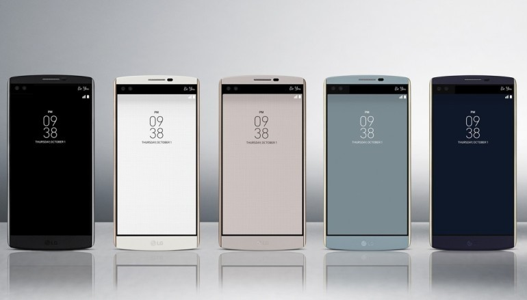 多個芒你用 LG發表新旗艦V10