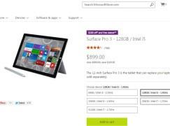 點解香港冇份?Surface Pro 3 美國限時劈 US $100
