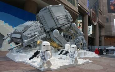 星戰 LEGO 熱 6 米高 AT-AT 登陸銅鑼灣