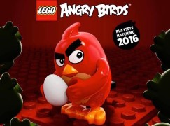 Lego x Angry Birds 主題玩具 2016 年推出