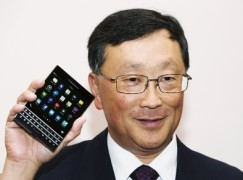 傳三星收購 BlackBerry股價坐過山車