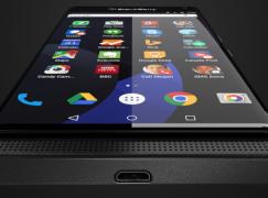 【又係雙側芒?】首部 BlackBerry × Android 手機諜照曝光