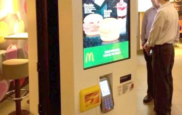 唔使排隊!麥當勞增自助點餐機