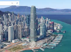 Google Earth 推香港 3D 地圖功能