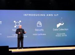 亞馬遜推AWS IoT平台 簡化物聯網應用開發