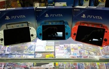 新色PS Vita水貨達陣