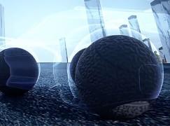 未來「球狀」輪胎!全方向行駛