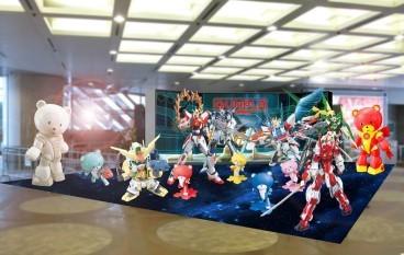 Gundam Docks at Hong Kong II 展覽概念圖流出?!