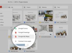 Google Drive 加入 My Maps 功能鼓勵用戶使用
