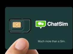 【WhatSIM再進化】ChatSIM所有IM€10一年全球任Send