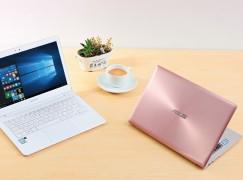 ASUS ZenBook 型薄筆電新色登場